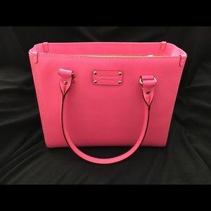 Pink Kate Spade Wellesley Quinn bag